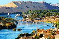 Rio Nilo - Passeio de Felucca